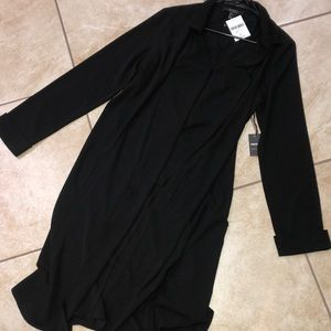 Forever 21 Black Long Jacket